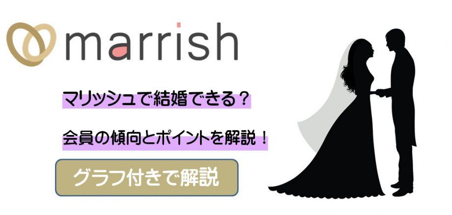 【2021年最新】マリッシュで結婚できる?会員の傾向とポイントを解説!